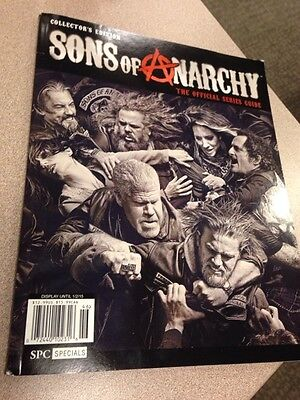 Sons Of Anarchy : Collectors Edition : The Official Series Guide : Magazine Book