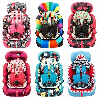 Cosatto Zoomi Group 1/2/3 Baby Car Seat With 5 Point Plus  9 Months - 12 Years