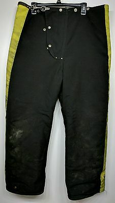 Janesville Firefighter Bunker Turnout Pants Liner 40x28 Prepper Fire Safety PPE