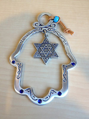 Hamsa For Home With Star Of David