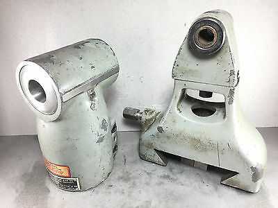 Bridgeport Right Angle 90° Milling Head R8 w/ Support