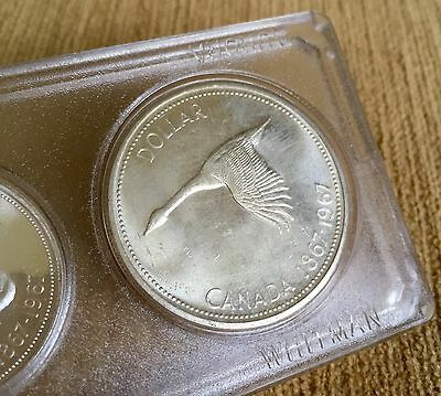 Canada Six Coin Set, 1867-1967.