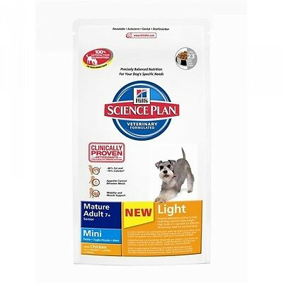 Hills Canine Mature Adult 7+ Mini Light Huhn 2,5kg