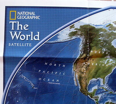 The World  National Geographic  Map / Poster September 2006