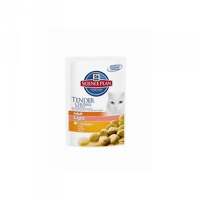 Hills Feline Portionsbeutel Light Adult mit Huhn 85g