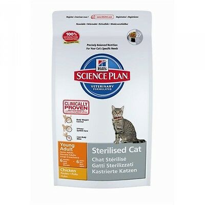 Hills Feline Sterilized Young / Adult Chicken 3,5kg