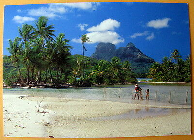 Bora Bora  South Pacific- unmarked postcard