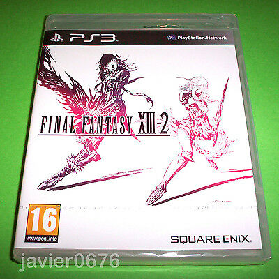 Final Fantasy Xiii-2 Nuevo Y Precintado Pal España  Playstation 3 Ps3