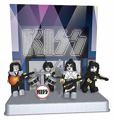 KISS Buildable Figures The Demon/The Starchild/The Spaceman/The Catman Series 1