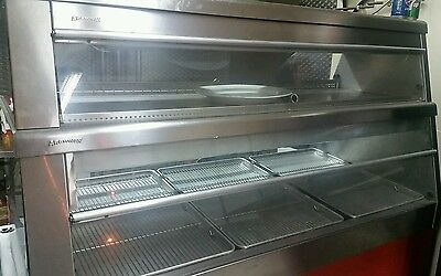 Henny Perry Chicken Hot Display Cabinet Catering Commercial Fast Food