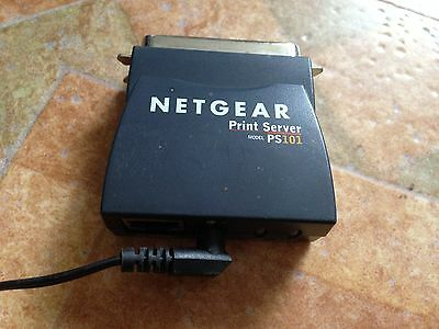 Netgear 1 Port Mini Print Server for Printers PS101