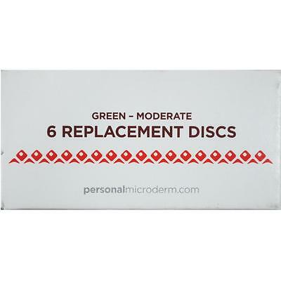 PMD Replacement Discs 6pk GREEN MODERATE 1203