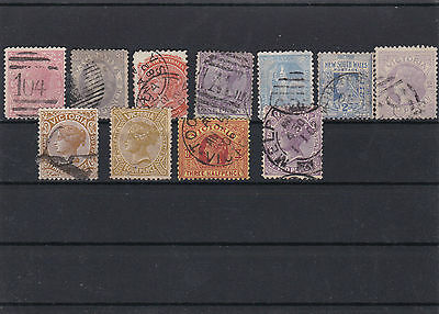 Early Australia , Mixed States  On Stock Card  .ref 316