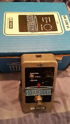 Electro Harmonix Holy Grail (Nano) Guitar Effects Pedal (Boxed/Power Supply)