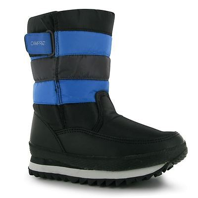 NEW!!! Baby Girls/Boys Winter SNOW Boots BLUE/BLACK shoes CAMPRI  C7 /UE 24