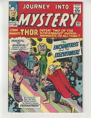 Journey Into Mystery #103/1st Enchantress & Executioner/VG-FN
