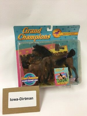 Grand Champions 1995 cleveland Bay Mare & Foal 50019 Vintage New
