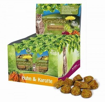 JR Cat Grainless Nature-Drops Huhn & Karotte 30g