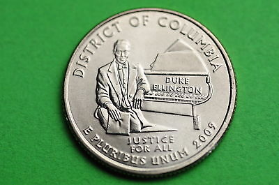 2009-D  BU Mint State (DISTRICT OF COLUMBIA) US Capitol Quarter Coin
