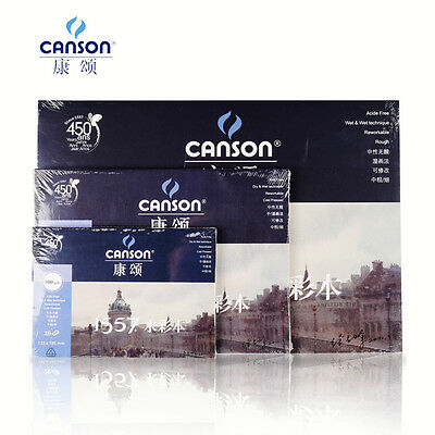 CANSON Drawing Painting Watercolour Notebook Water Paper Draw Book 8k 16k 32K