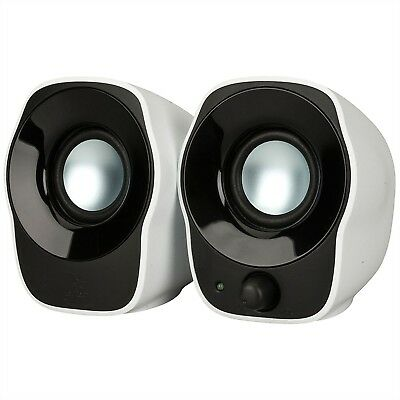 Logitech Z120 USB Compact Mini Stereo Speakers for Music Players & PC Computer