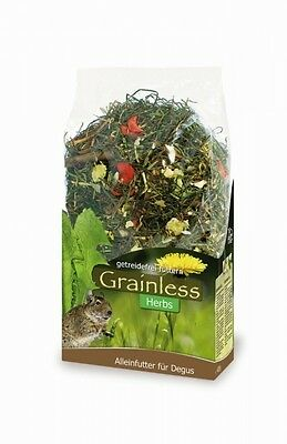 JR Grainless Herbs Degu 400 g