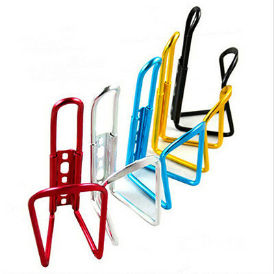 New Aluminum Alloy Bike Bicycle Cycling Drink Water Bottle Rack Holder Cage liau