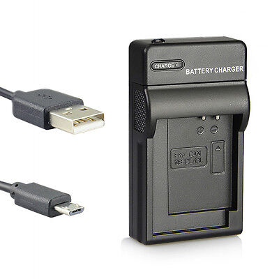 DSTE Camera Battery USB Charger UDC161 for CANON NB-12L NB-13L