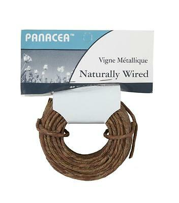 Two Packs 40 Feet Each Vine Wrapped Rustic Feel Craft Wire ~ 80 Feet Total