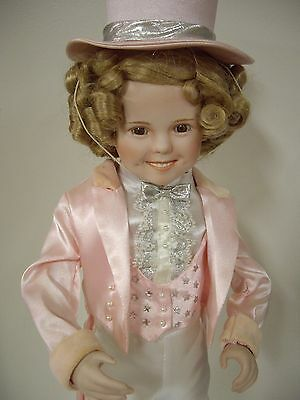 "Shirley Temple 17"" Inch Porcelain Doll"