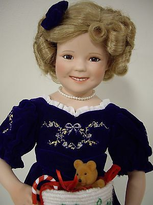 "Shirley Temple by Elke Hutchens 17 1/2"" inch Doll"