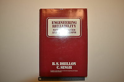 #JB27  1981 ENGINEERING RELIABILITY Book by B.S. Dhillon & C. Singh