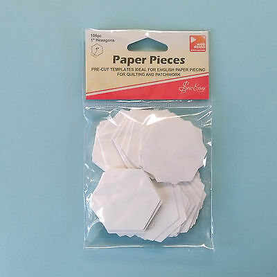 English Paper Piece Templates ~ Hexagons ~ Varied SIzes