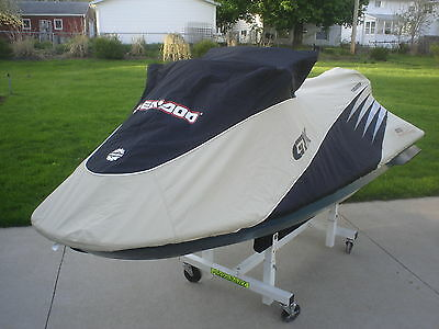 SEA DOO GTX 4-TEC SUPERCHARGED Cover Black & Sand New