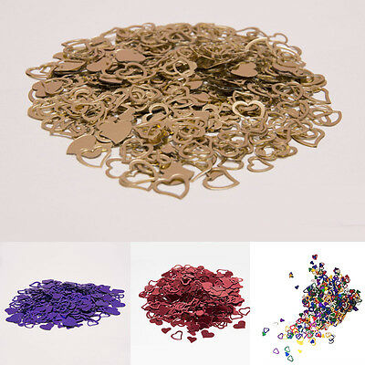 Heart Confetti Wedding Table Scatters Celebrate Engagement Wedding Decorate New
