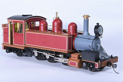 On30 Haskell NA Puffing Billy DCC fitted - Canadian Red