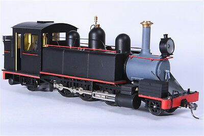 On30 Haskell NA Puffing Billy DCC fitted - Black with Red Lining