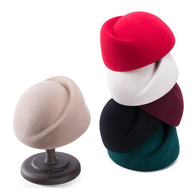 Womens Wool Air Hostesses Pillbox Millinery Making Material Fascinator Hat A137