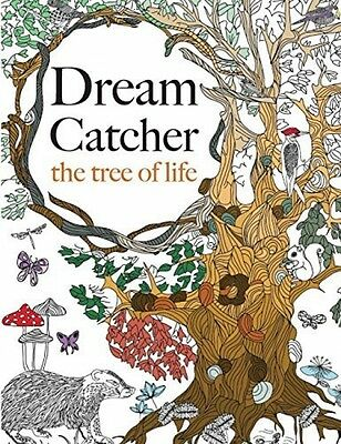 Anti Stress Adult Colouring Book Dream Catcher:The Tree Of Life:For All Ages