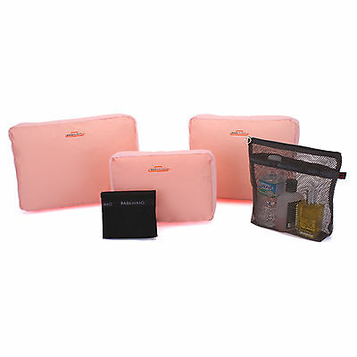Bags in Bag BTSPH5 Poly 5 Travel Pouch Waterproof Pockets Wide Mini Bags 4Color