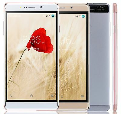 """6""""inch 8MP Android Mobile Phone 3G GSM Unlocked Smartphone 16GB 4 core XGODY Y13"""