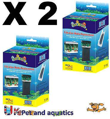 Fish R Fun, FRF-585CT X 2 Spare filter media for FRF-585, New FRF-511