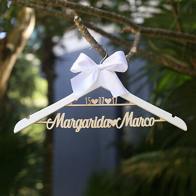 personalized wedding dress party gift bridesmaids bride hanger wedding decor