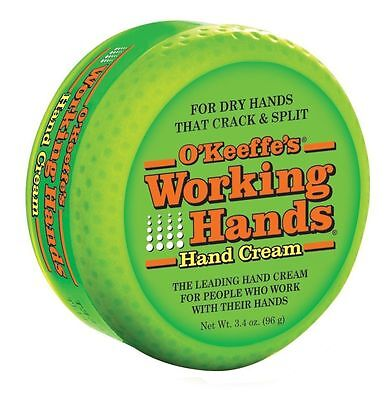 O'Keeffe's Working Hands Cream for Split Skin, Hacks, Cracked Hands, Non-Greasy