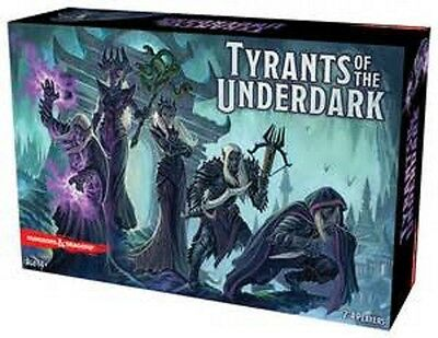 Dungeons & Dragons: Tyrants of the Underdark Boardgame