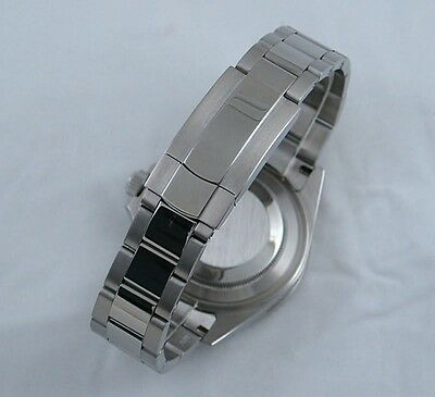 PARNIS 20mm STAINLESS STEEL STRAP FOR 40mm ROLEX SUBMARINER AND GMT WATCHES