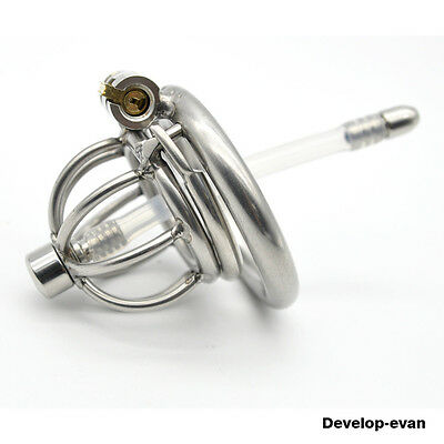 Latest Design Male Chastity Devices Stainless Steel A282-2