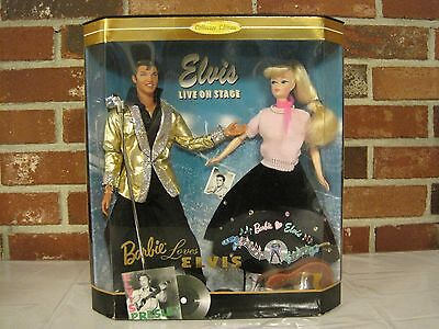1996 Barbie Doll Loves Elvis---Gift Set---Collector Edition