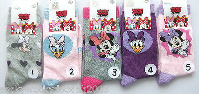 Disney Minnie Mouse Daisy Duck girls socks novelty UK size 3-5.5 up to 12.5-3.5