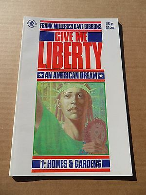 Give Me Liberty 1of4.1st App. M . Washington .Miller / Gibbons- Dark Horse .1990